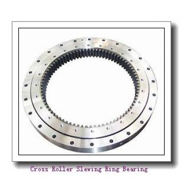 China Factory Trailers Parts Single Row Ball Slewing Bearing Turntables