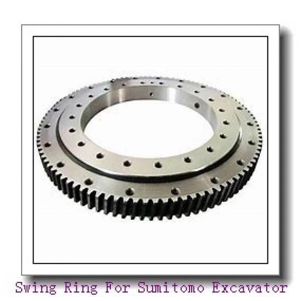Three Row Roller Slewing Ring Bearings for Wind Turbine for Sale #1 image